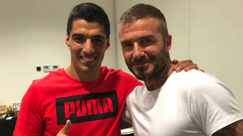 David Beckham Ingin Boyong Luis Suarez ke Inter Miami